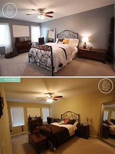before and after a two day bedroom make for only