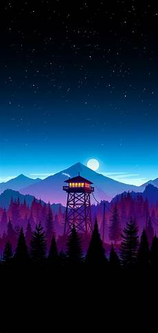 The Iphone Wallpaper by Firewatch Wallpaper I Made For My Iphone X Iwallpaper