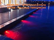 Water Feature Lights Underwater Water Feature Contractor Singapore Specialized