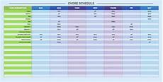 2 Weeks On 1 Week Off Roster Calendar Free Weekly Schedule Templates For Excel Smartsheet