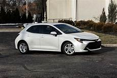 Toyota Hatchback 2019 by 2019 Toyota Corolla Hatchback Se Review The