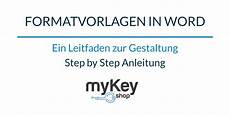 Formatvorlage Word Download Formatvorlagen In Word Erstellen Mykey Software