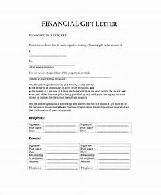 Gift Certificate Letter Template Free 13 Sample Gift Letter Templates In Pdf Ms Word