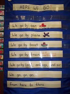 Pocket Chart Poems For Kindergarten Here We Go Kindergarten Nana