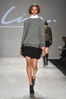 line knitwear at world mastercard fashion week