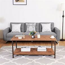 2 tier coffee accent end table living room accents