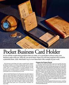 Home Made Buisness Cards Diy Business Card Holder Woodarchivist
