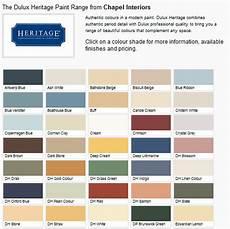 Heritage Paint Colour Chart Daine Auman S Blog Dulux Colour Chart