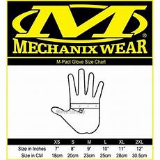 Pact Size Chart Mechanix Glove Size In Inches Images Gloves And