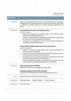 Customer Relationship Executive Resume Customer Relations Executive Cv Ctgoodjobs Powered By