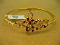 Bajubandh Designs In Silver Gold And Diamond Jewellery Designs Bajubandh Armlet Ara