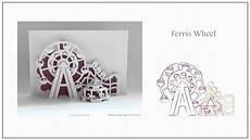 pop up card ferris wheel template pop up cards ebook vol 2 assorted pop up cards