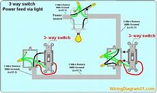 How To Wire A 3 Way Light Switch 3 Way Switch Wiring Diagram House Electrical Wiring Diagram