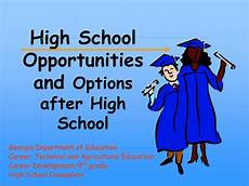 After High School Options Ppt High School Opportunities And Options After High