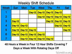 4 On 4 Off Shift Calendar App Employer Wanting To Change Shift Patterns Page 2 Rtg