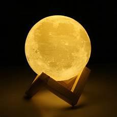 The Luna Light 3d Magical Led Luna Night Light Moon Lamp Desk Usb