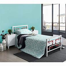 aingoo single metal bed frame 3ft beds solid square