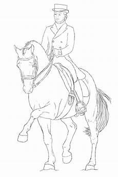 Ausmalbilder Pferde Dressur Free Dressage Line By Ningchen On Deviantart