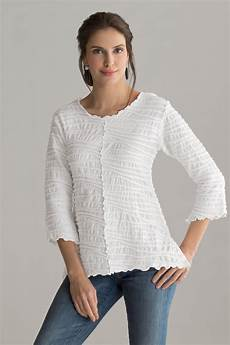 fiore seamed top by carol turner knit top artful home