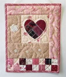 patchwork wandbehang quilted wall hanging shabby cottage chic wall quilt