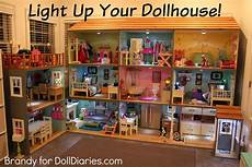 Barbie Doll House With Lights Light Up Your Dollhouse Doll Diaries American Girl