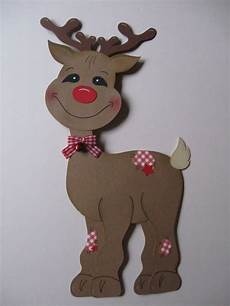 fensterbilder weihnachten vorlagen kinder fensterbild rudi rentier rudolph elch rudolf