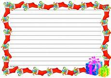 Christmas Themed Writing Paper Christmas Themed Lined Paper And Pageborders Teaching