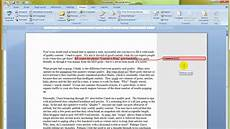 Extension Of Ms Word Ms Word 2007 How To Use Or Insert Comments In A Document