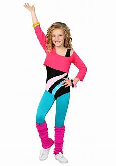 toddler workout clothes child 80 s workout costume