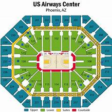 Phoenix Suns Seating Chart Us Airways Us Airways Center