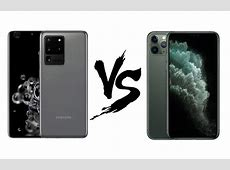Samsung Galaxy S20 Ultra vs iPhone 11 Pro Max: ????????
