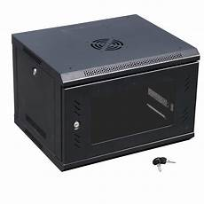 6u wall mount it server network cabinet rack enclosure