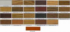 Minwax Duraseal Color Chart Wood Stain Colors Interior Seal Quick Coat