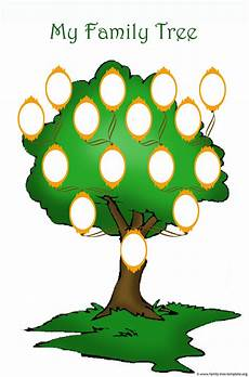 Family Tree Templates Online Blank Family Trees Templates And Free Genealogy Graphics