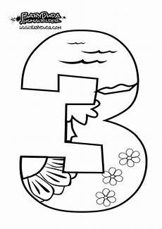 Ausmalbilder Zahlen Lernen Ausmalbilder Zahlen Vorlagen Zum Z 228 Hlen Lernen