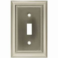 Home Hardware Light Switch Brainerd 64209 Architectural Single Switch Wall Plate