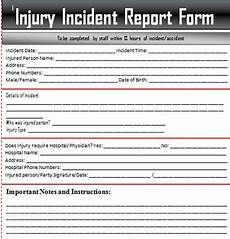 Project Management Incident Report Template Sample Incident Report Letter Word Excel Templates
