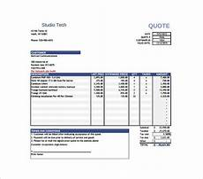 Price Quotation Template Price Quotation Template 15 Free Word Excel Pdf