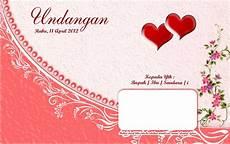 cantik photo tugu jenis kartu undangan pernikahan sweet heart
