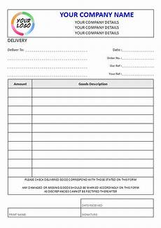 Delivery Book Template Ncr Delivery Note 2 Column Lined
