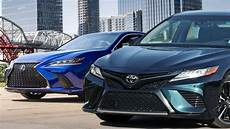 Lexus Es 2019 Vs 2018 by 2019 Lexus Es 350 F Sport Vs 2018 Toyota Camry Xse