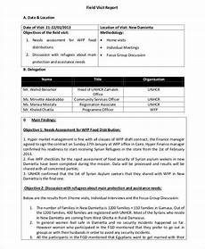 Visiting Report Template 18 Visit Report Templates Free Word Pdf Doc Apple