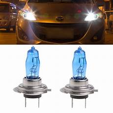 Small Dc Light Bulbs Hngchoige 2pcs H7 6000k Gas Headlight White Light Lamp