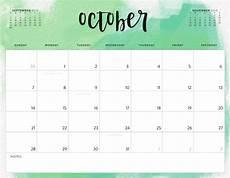 Free Blank Printable Calendars Free October 2018 Calendar In Printable Format Templates