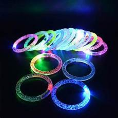 Led Lights To Wear Led Acrylic Bracelet Light Up Wristband Bangle