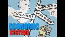 Types Of Economy Topic 3 Economic Systems Youtube