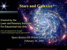 Stars Powerpoint Stars Galaxies Powerpoint