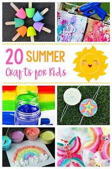 Babysitting Ideas For Summer 20 Simple Amp Fun Summer Crafts For Kids