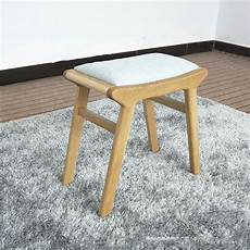 household wooden dressing stool change shoe bench solid