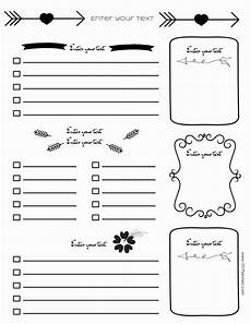 Journal Templates Free Bullet Journal Printables Customize Online For Any